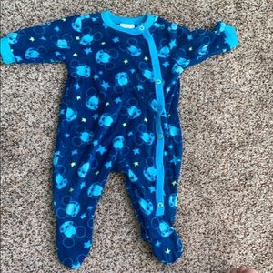 Baby Disney Mickey footie pajamas